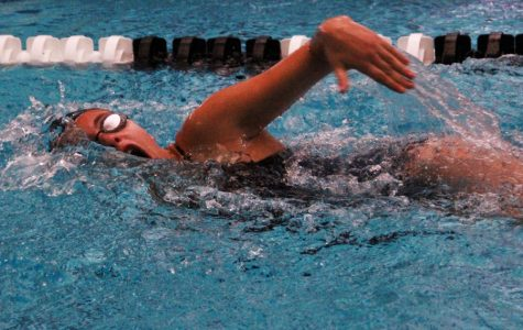 72 Swimmers Help Push Girls' Team to Victory