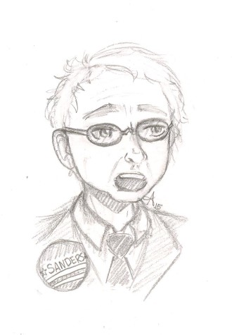Sanders Illustration by Abby Legner