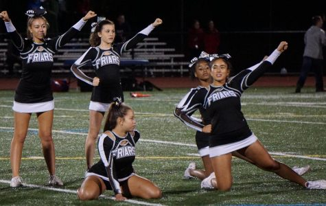 Rain or Shine, Cheer Spreads School Spirit