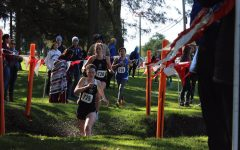 Girls' Cross Country Breaks Team Records