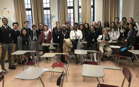 French Students Visit Friars