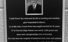 Locker Room Dedicated to Coach Power